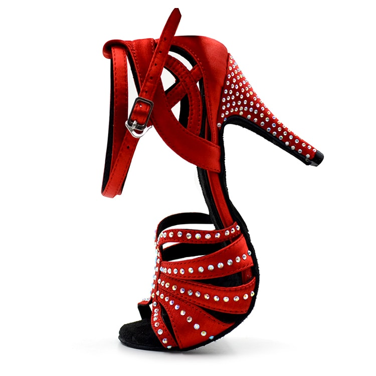 Red Diamond Ladies Latin Dance Shoes