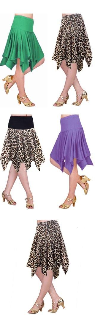 Woman Latin Dance Skirt