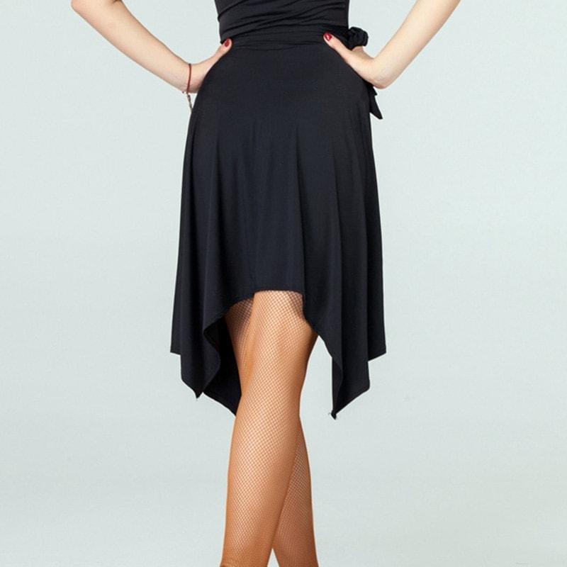 Latin Dance Skirt For Dancing Practice/Performamnce Dancewear
